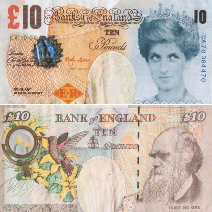 Di-Faced Tenner es el nombre de la nueva adquisición del El Museo Británico