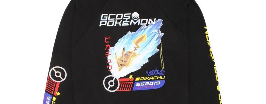 GCDS lanza sudaderas especiales de Pikachu