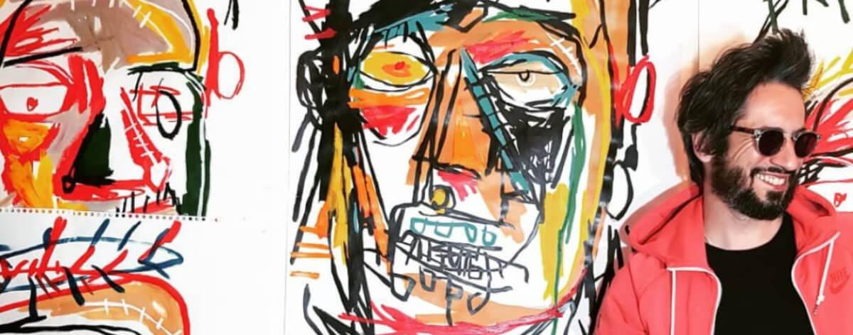 Cancelan exposición de artista por plagio a Basquiat