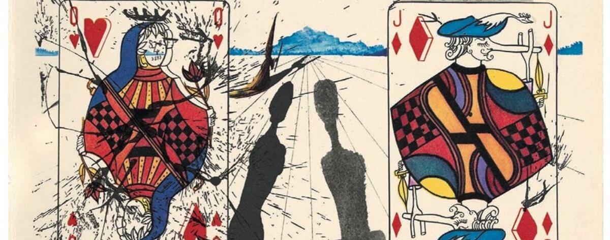 Ilustraciones de Salvador Dalí para Alicia en el país de las Maravillas