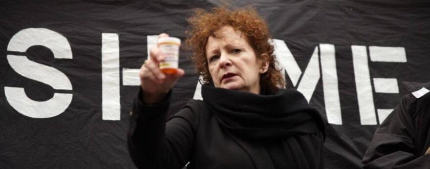 Lucha y protesta de Nan Goldin contra los narcóticos