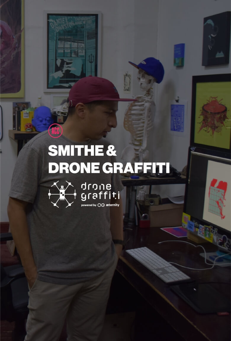 SMITHE invitado en Drone Graffiti Project