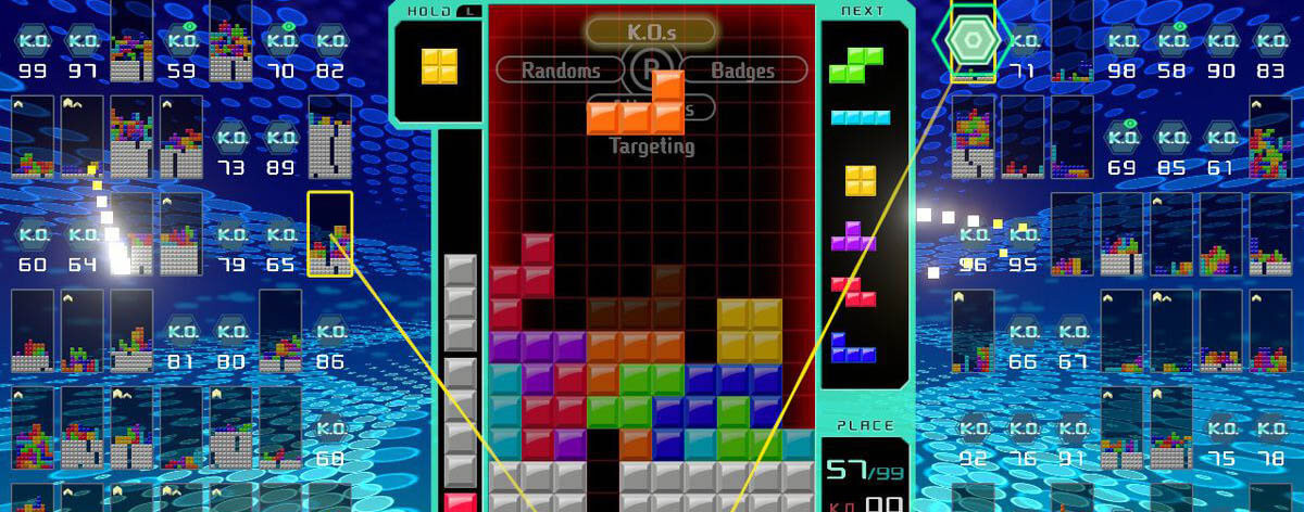 Tetris 99 creará su propia competencia Battle Royale
