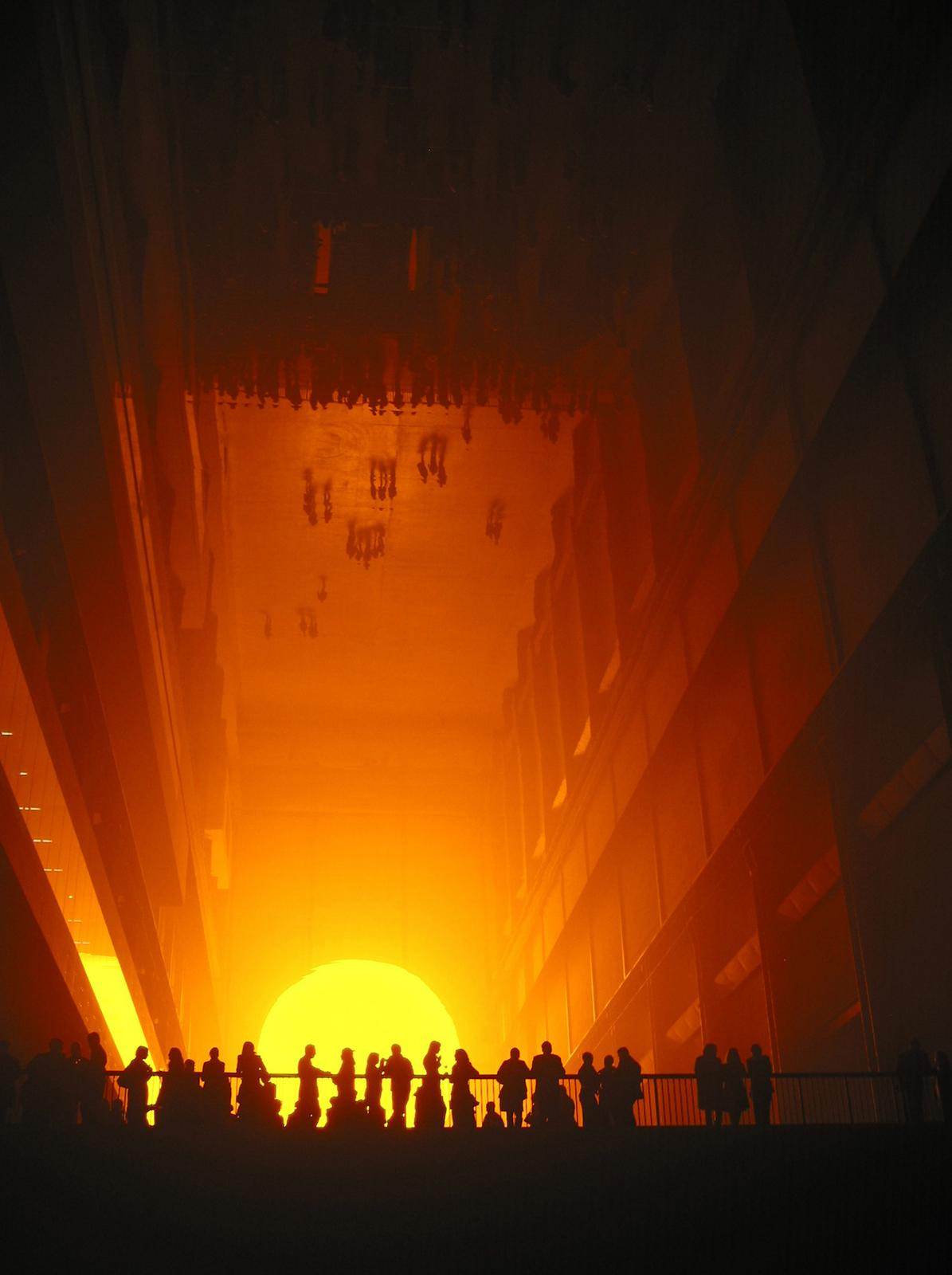 The Weather Project de Olafur Eliasson 6
