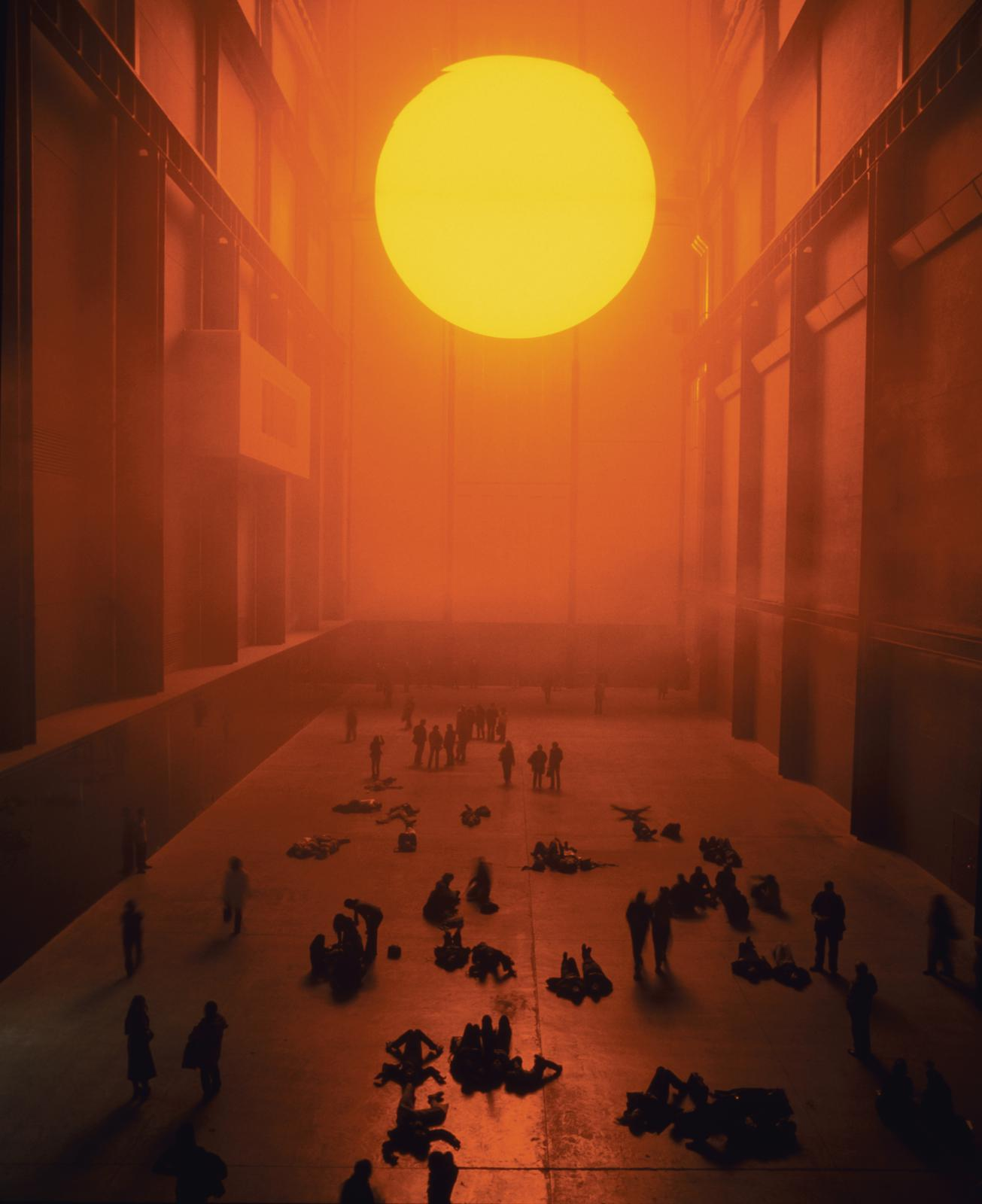 The Weather Project de Olafur Eliasson