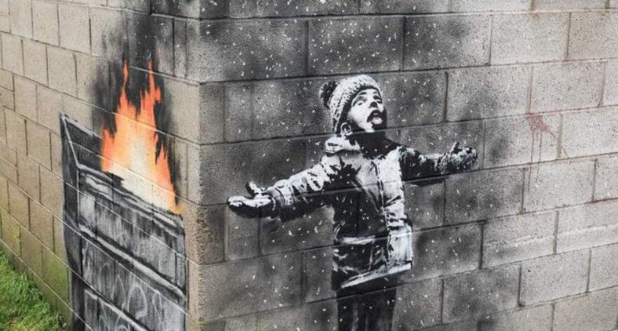 Última obra confirmada de Banksy es vendida