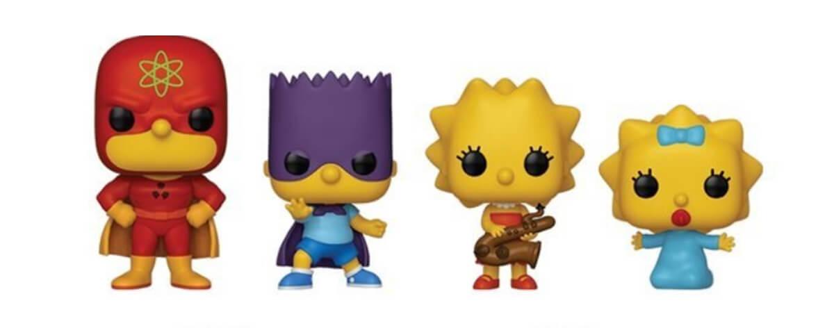 Funko y Los Simpson lanzan nueva colección