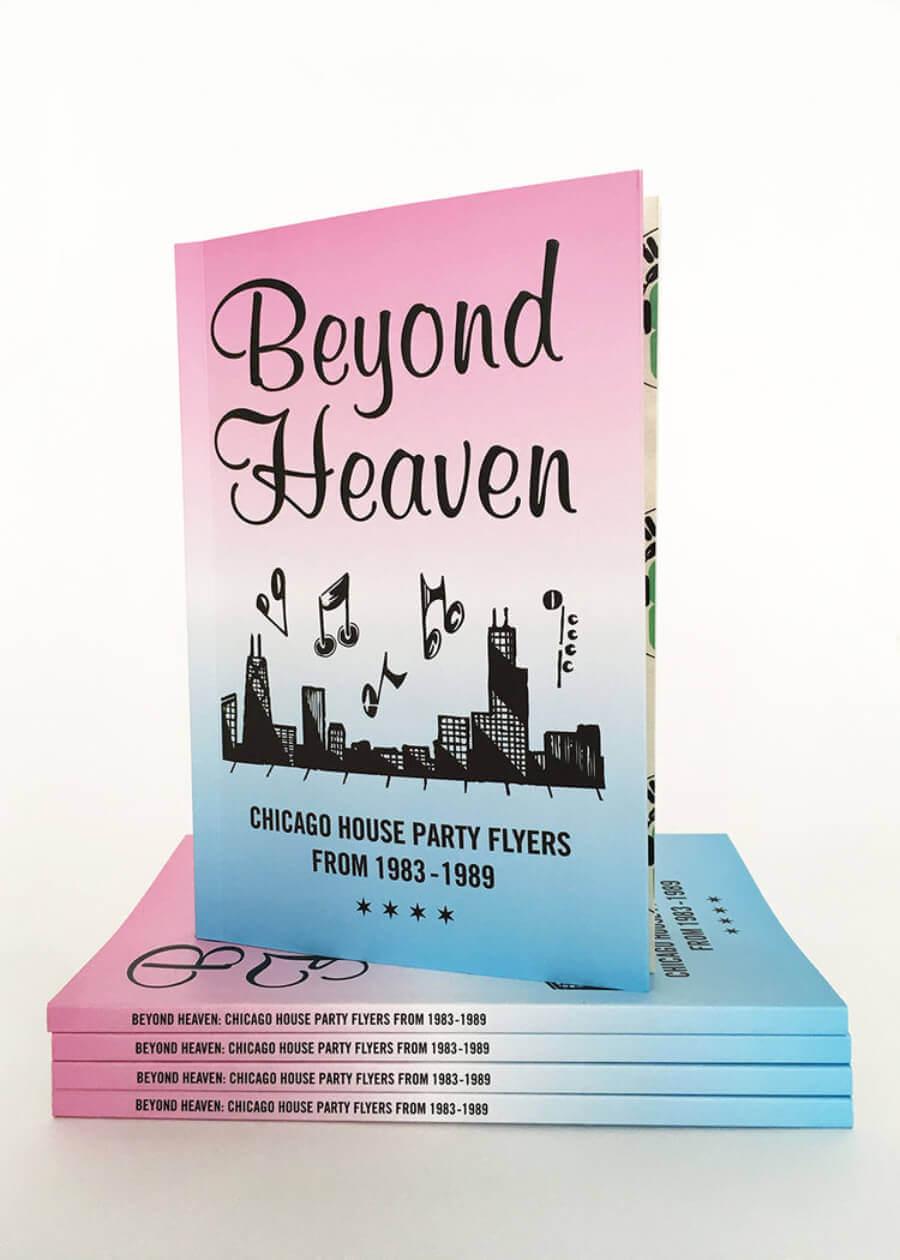 libro Beyond Heaven de flyers de fiestas house