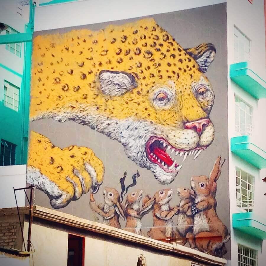 Ericailcane mural CDMX