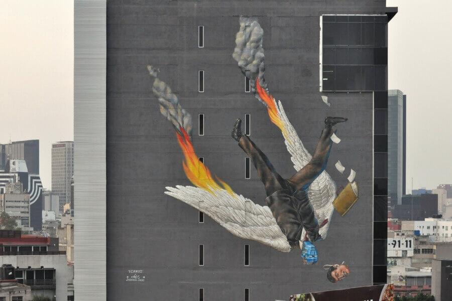 Interesni Kazki mural Mexico