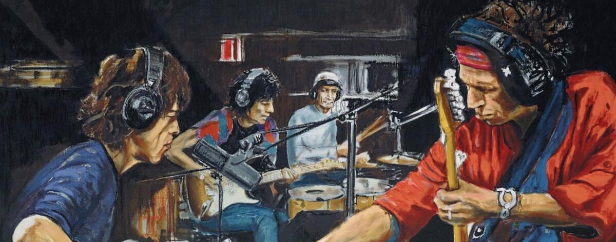 Arte gráfico que pudo ser la carrera de algunos músicos