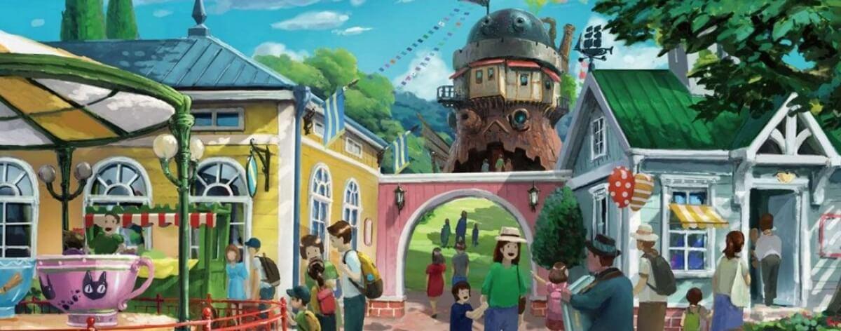 Parque temático de Studio Ghibli abrirá en 2022
