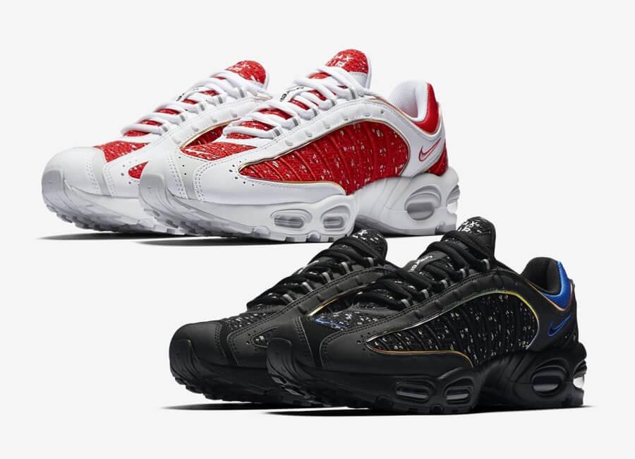 Supreme Nike -rojo, blanco y negro