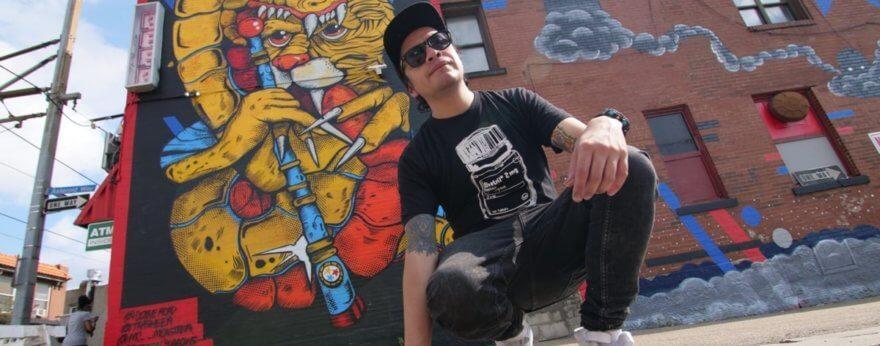 Trasher y su visión sobre el arte urbano