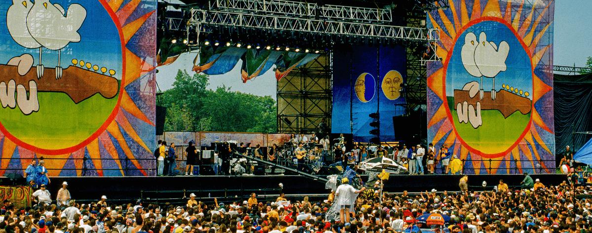 El 50 aniversario de Woodstock lanza su cartel