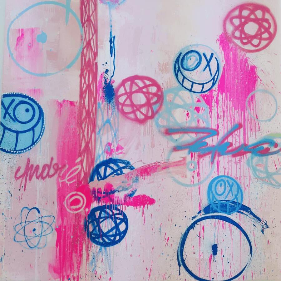 Colaboración de Anre y Futura en Magda Danysz Gallery