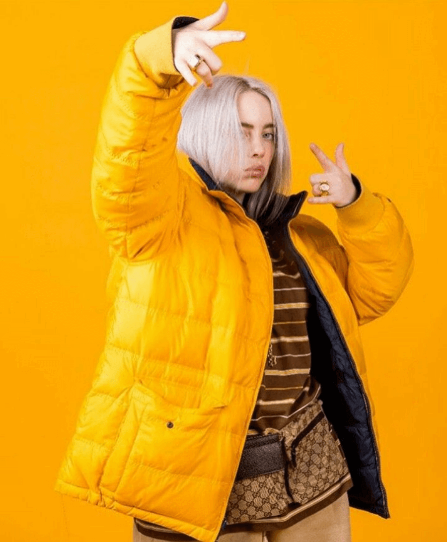 Retrato de Billie Eilish