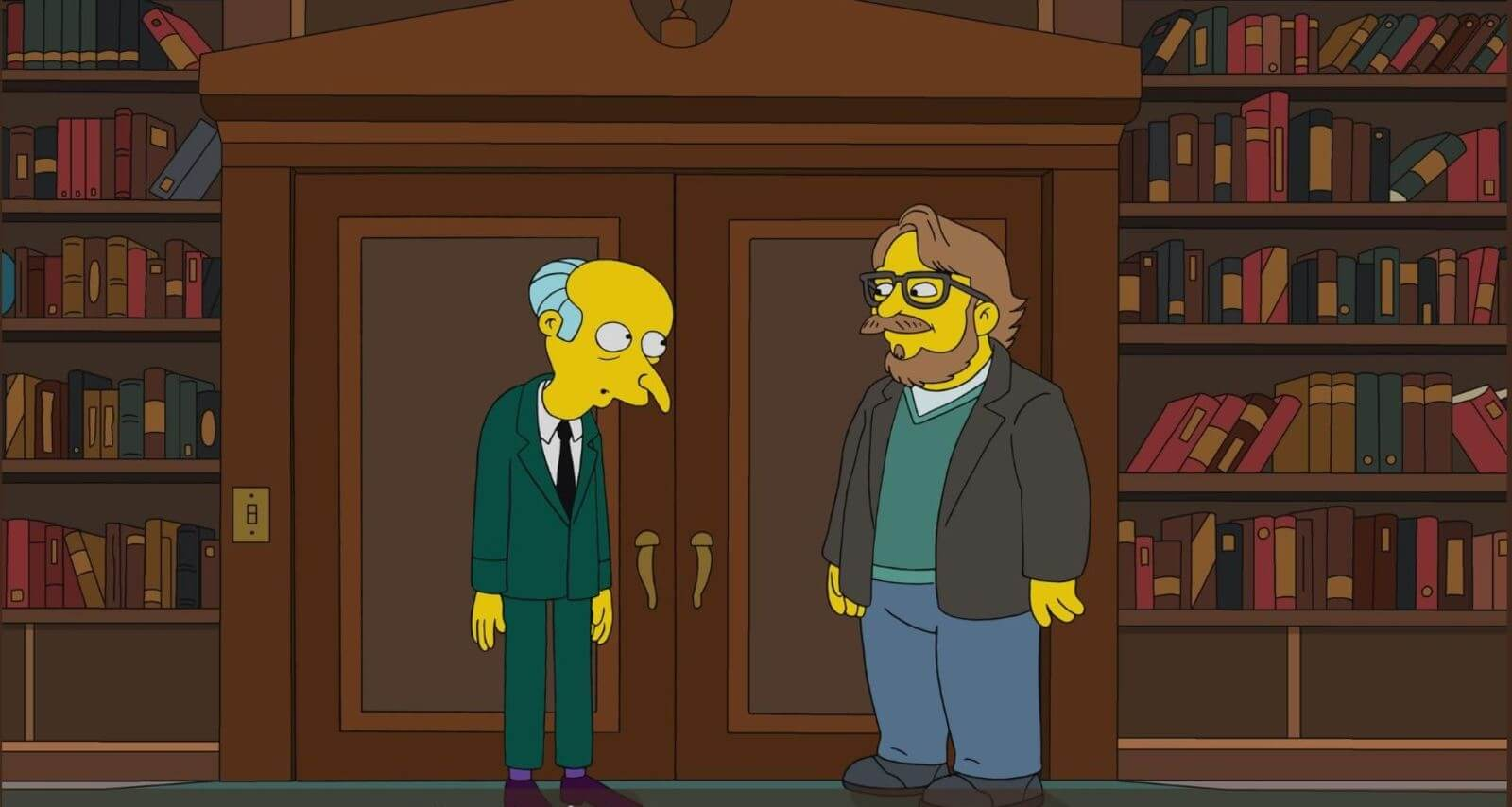 Guillermo del Toro aparecerá en The Simpsons