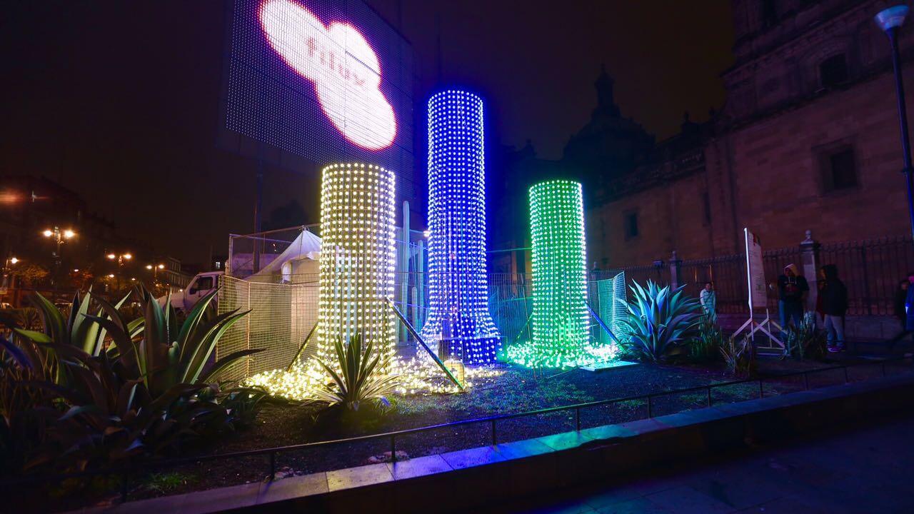 Festival de las luces FILUX 2017 visuales