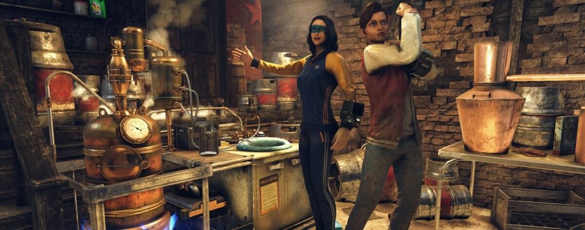 Fallout 76 muestra forma de crear licor casero