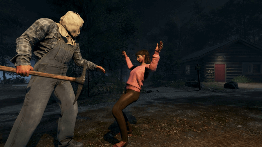 Escena del videojuego Friday the 13th