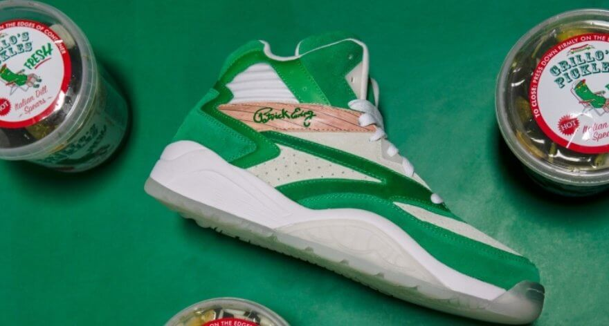 Grillos Pickles y Ewing Athletics presentan sneakers
