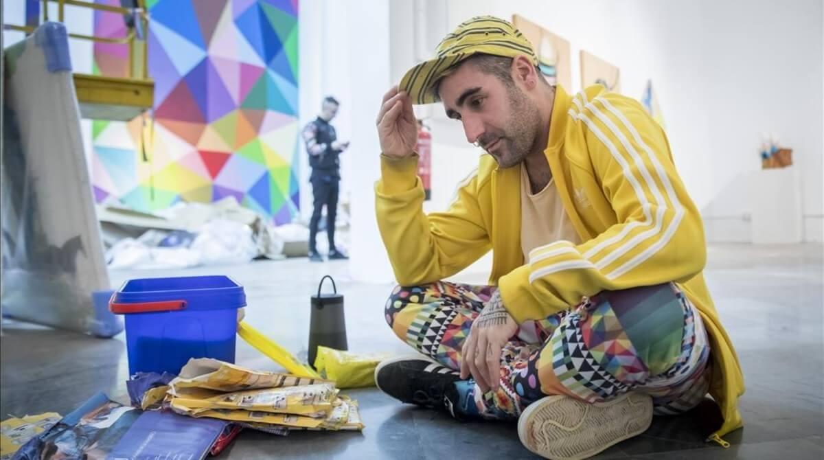 documental de Okuda San Miguel en Las Fallas de Valencia