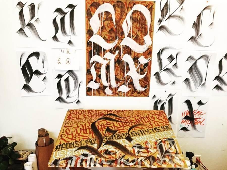 Shuky Zapata un apasionado por las artes gráficas