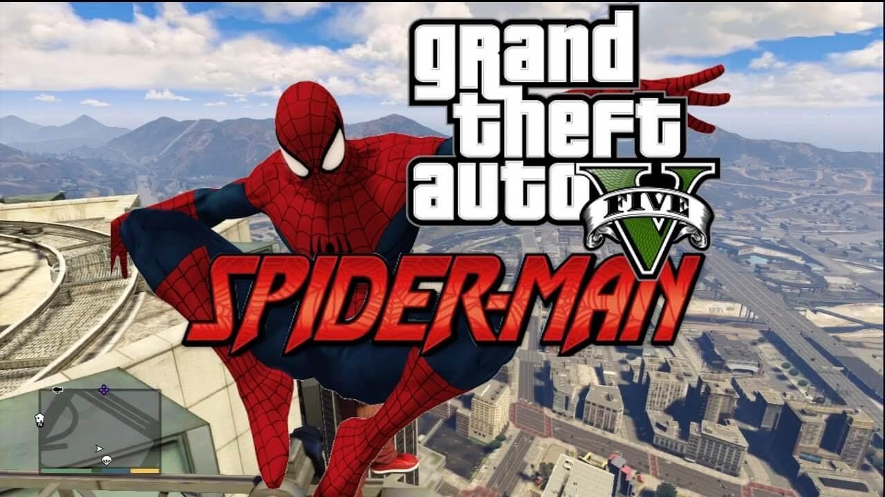 Spider Man llega a GTA