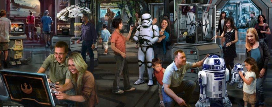 Star Wars: Galaxy's Edge, la nueva atracción de Disney