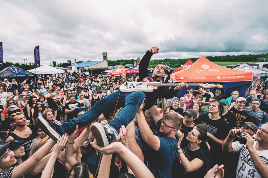 Fotografía de cómo se vive el Vans Warped Tour