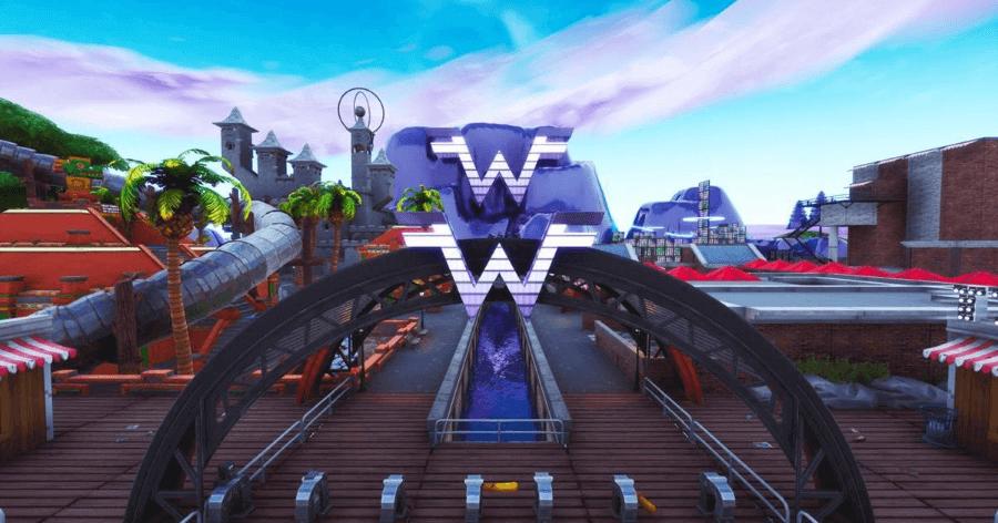 Isla en Fortnite de Weezer