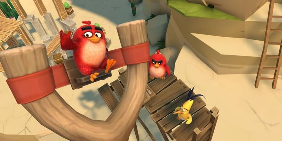 Angry Birds AR Isle of Birds finalmente llega en realidad aumentada