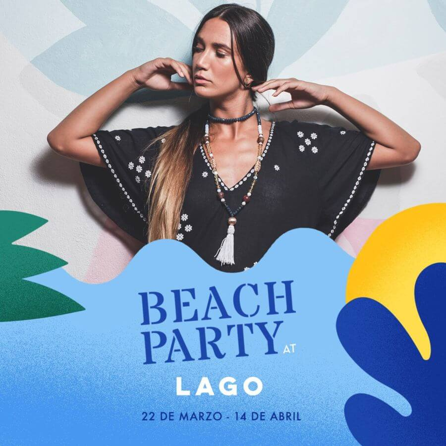 Poster Beach Party