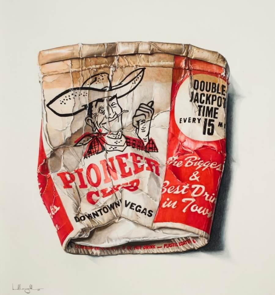 Bella McGoldrick y sus pinturas hiperrealistas