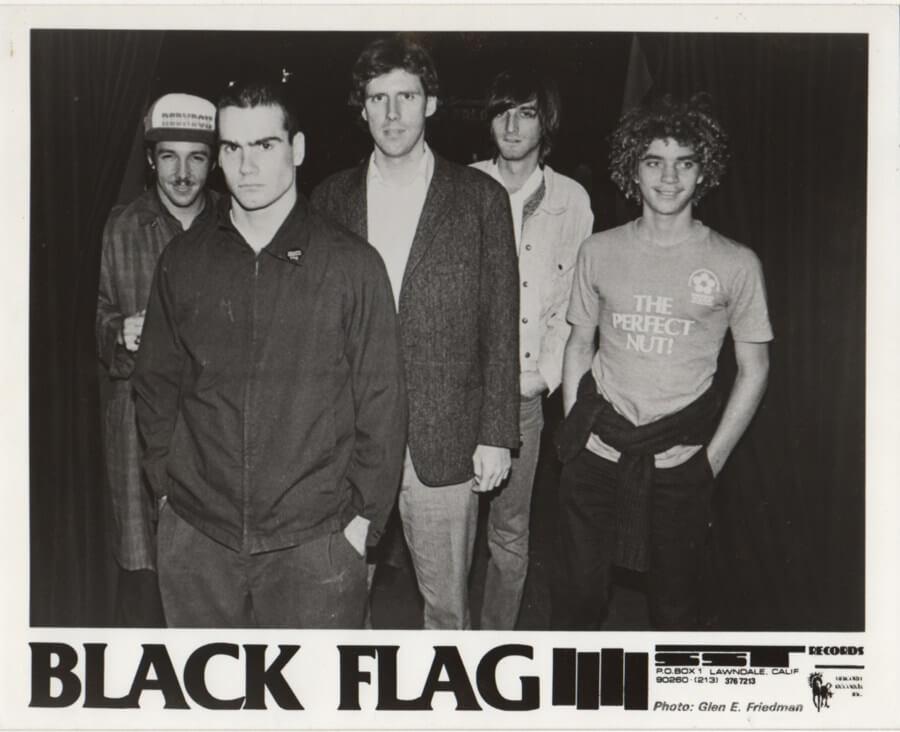 Retrato de Black Flag