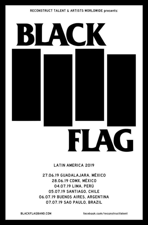 Gira por LATAM de Black Flag