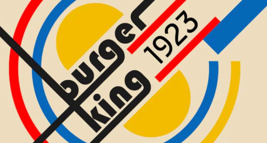 Homenaje a Bauhaus con rediseño de logotipos icónicos
