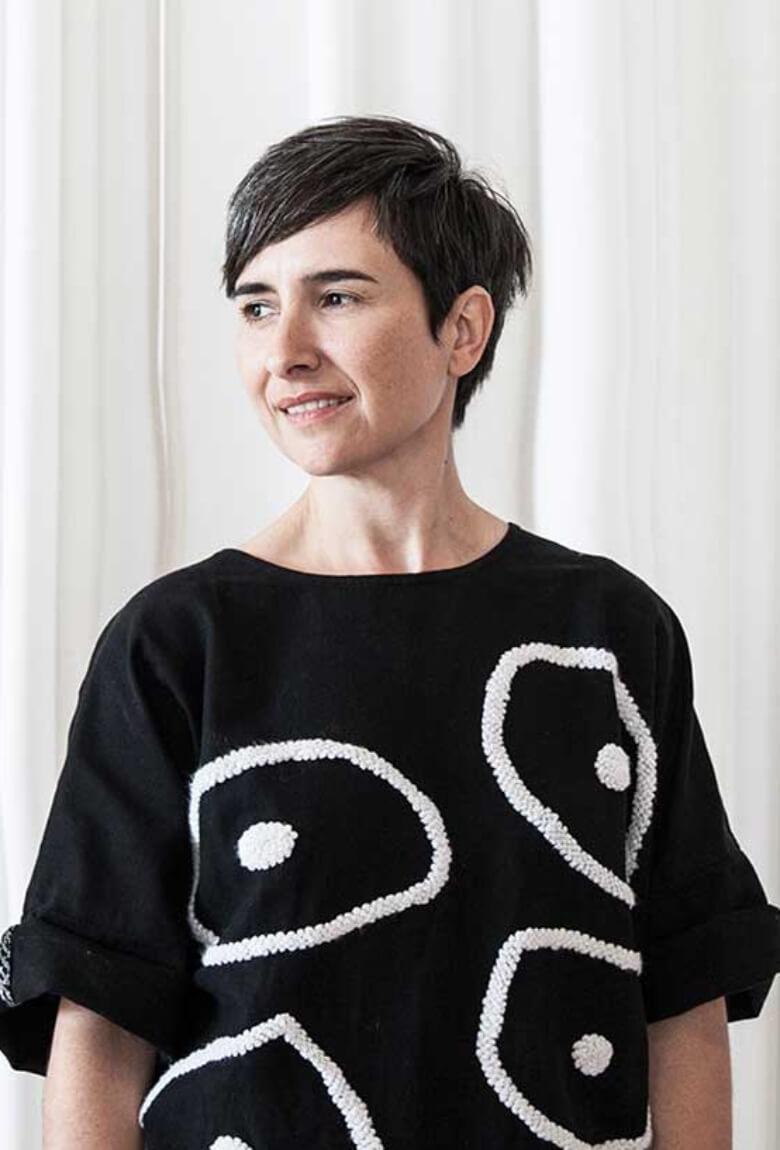 Carla Fernández en The Mexico City Department