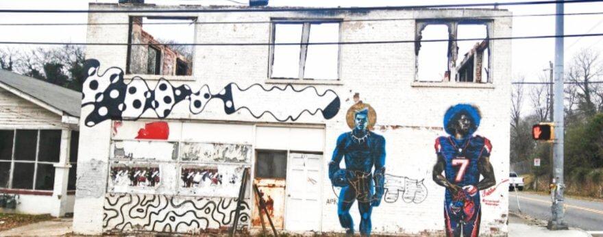 El mural de Colin Kaepernick es censurado