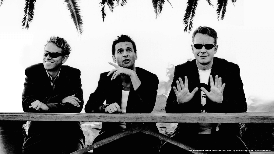 Retrato de Depeche Mode