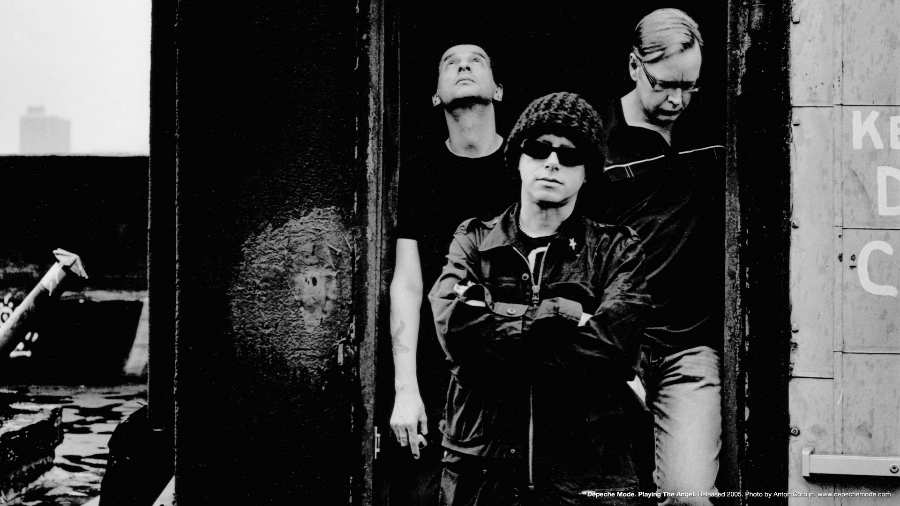 Retrato de Depeche Mode