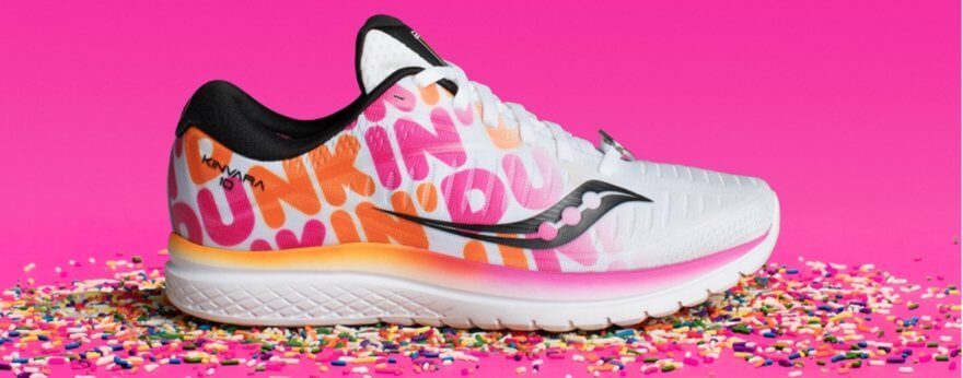 Dunkin Donuts y Saucony en este delicioso sneaker