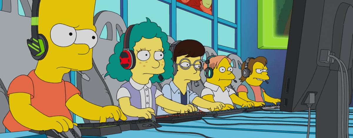 E my Sports, los videojuegos invanden a Los Simpsons