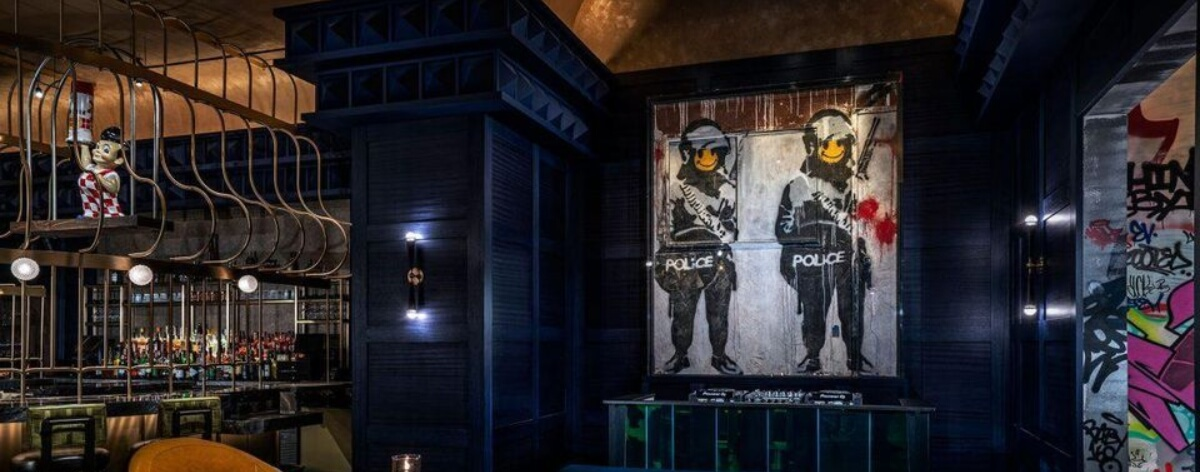 El primer Banksy permanente en Las Vegas