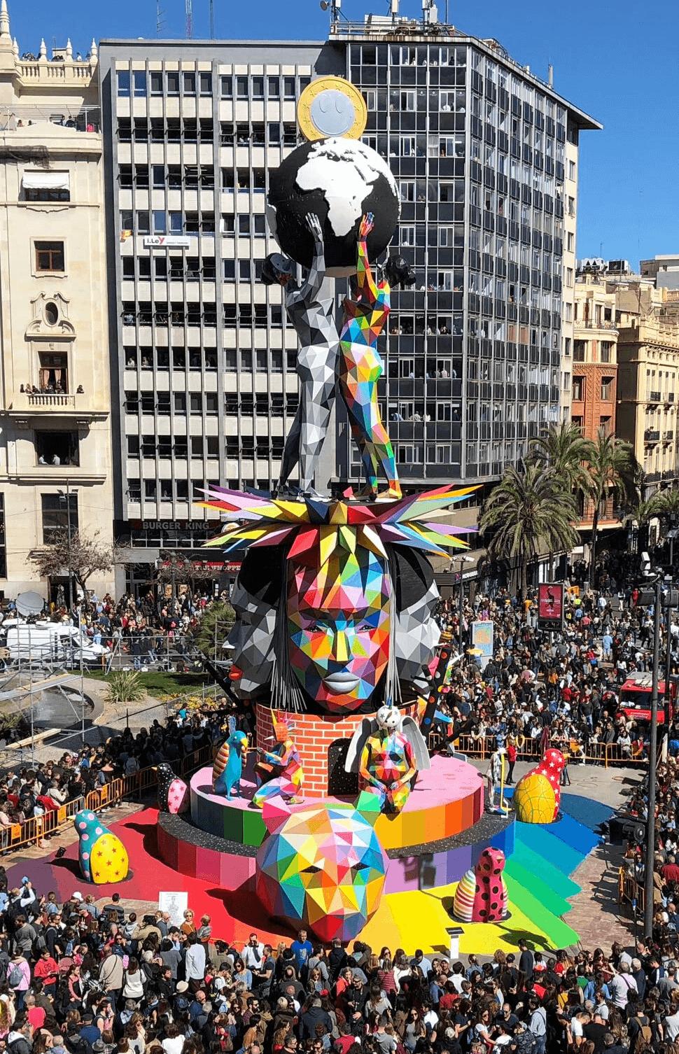 Falla de Okuda San Miguel