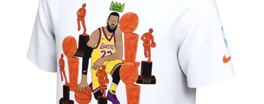 Gangster Doodles y Nike nos presentan estas camisetas