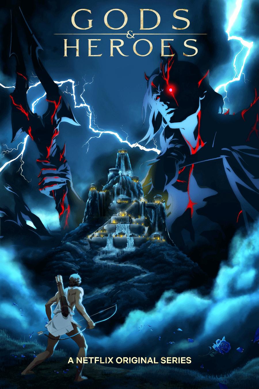 Poster de Gods and heroes