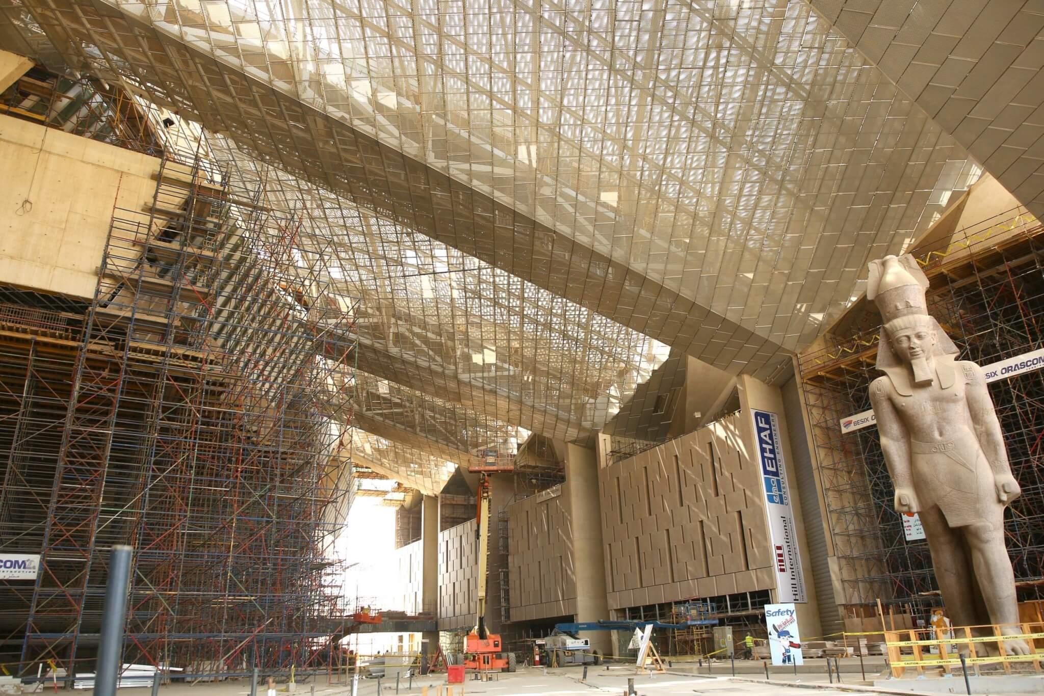El Gran Museo Egipcio abrirá sus puertas en 2020