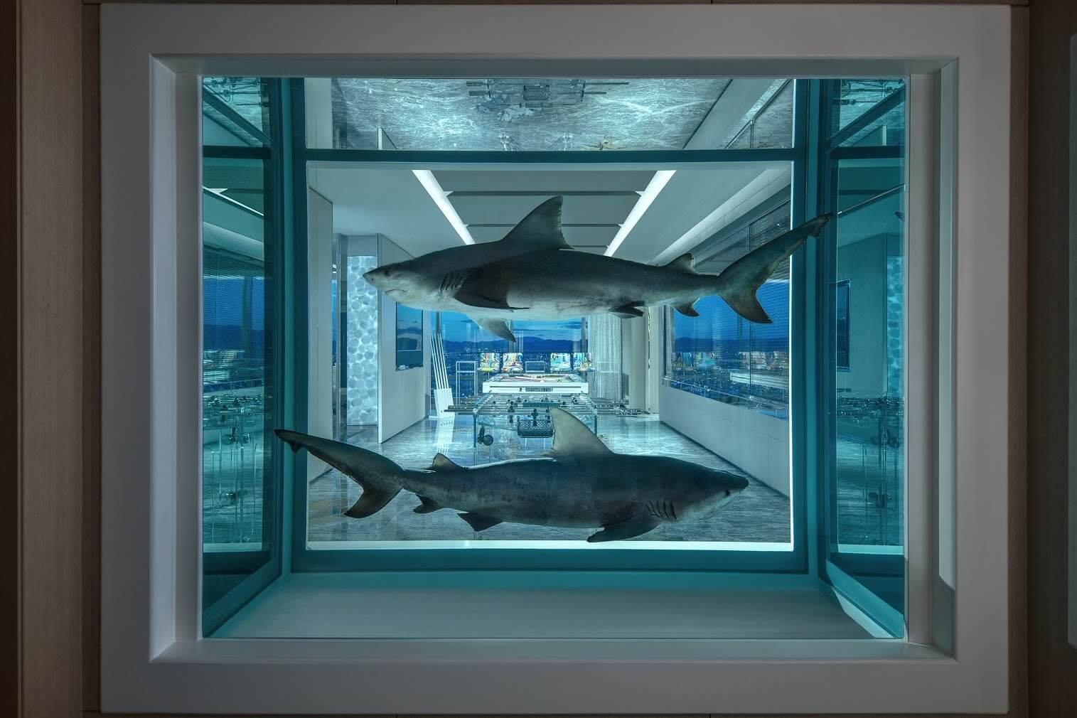 Suite diseñada por Damien Hirst en Las Vegas